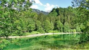 Wandertrilogie Allgäu - See bei Fischen