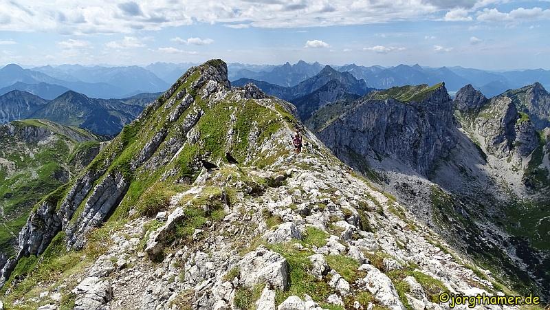 Risiken beim Wandern absichern