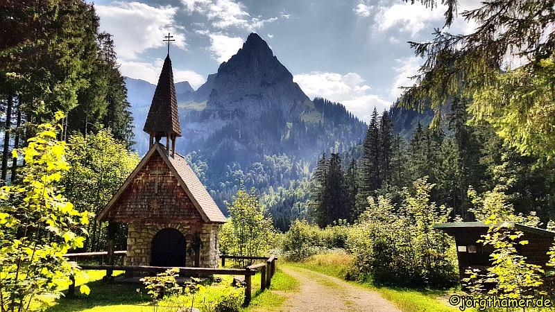 Wandertrilogie Allgäu - Wankerfleck-Kapelle