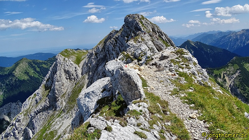 Gipfelgrat Hochplatte
