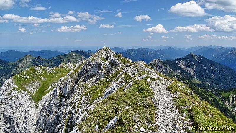 Wandertrilogie Allgäu - Hochplatte bei Füssen