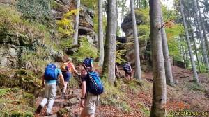 Mullerthal Trail - unterwegs