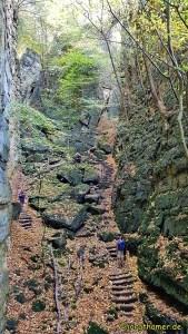 Mullerthal Trail - Wolfsschlucht