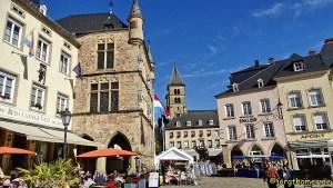 Echternacher Marktplatz