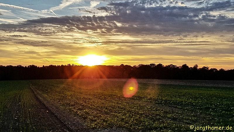 Berdorf - Sonnenuntergang