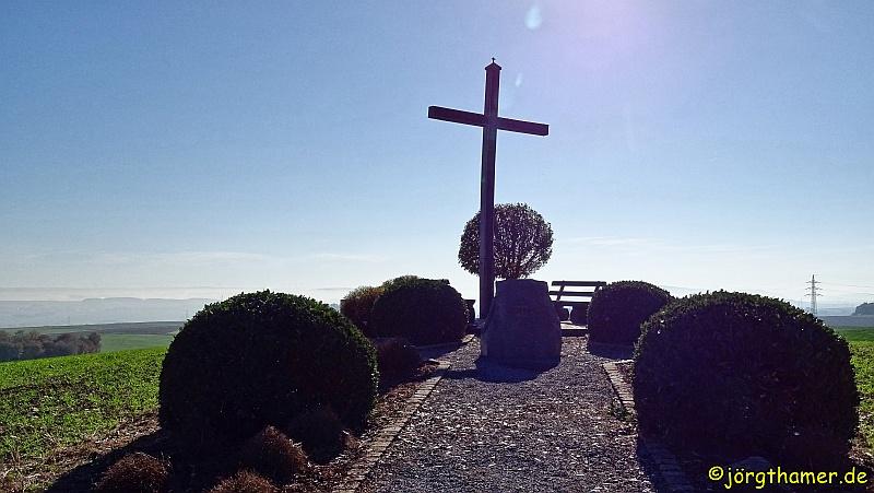 Gipfelkreuz am Sammetzkopf