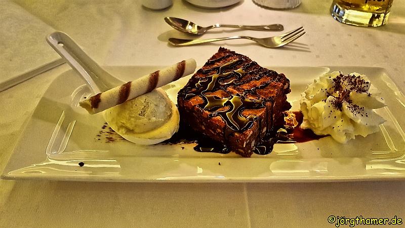 Dessert im Hotel am Reiterkogel