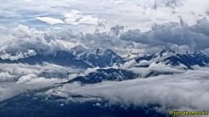 Wolkenspiele am Pinzgauer Spaziergang