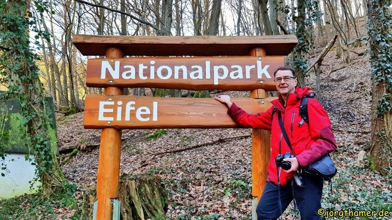 Schild Nationalpark Eifel
