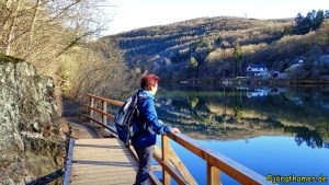 Wandern Talsperre Heimbach