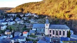 Aussicht Burg Hengebach Rureifel