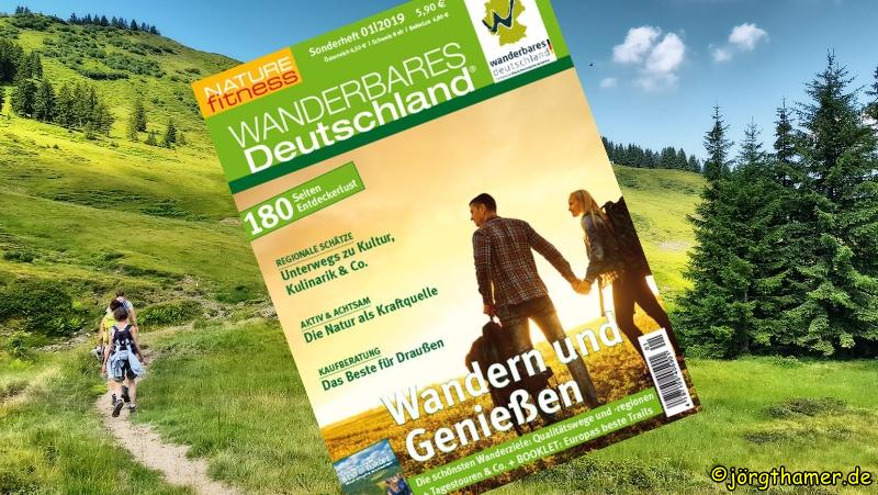 Ab heute (20.03.2019) im Handel - Wanderbares Deutschland 2019