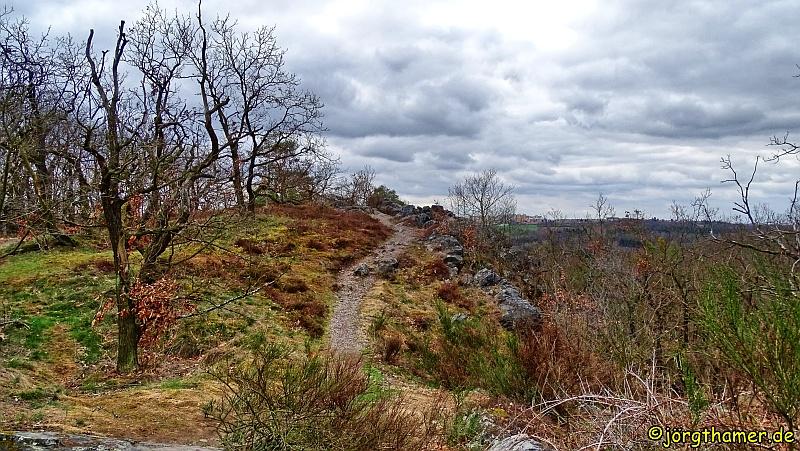 Weg zum Aussichtspunkt Wilde Sarka