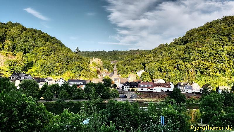 Das idyllische Städtchen Balduinstein ist Start- und Endpunkt der Tour