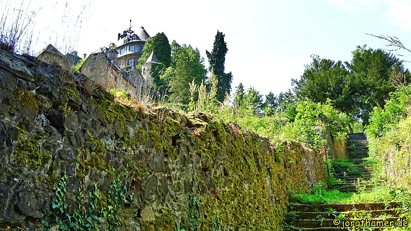 Küppeltour - Treppe an der Schaumburg