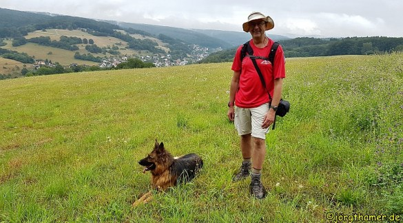 Wandern im Räuberland