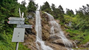 Zipfelbachfall am Grenzgänger Wasserfall