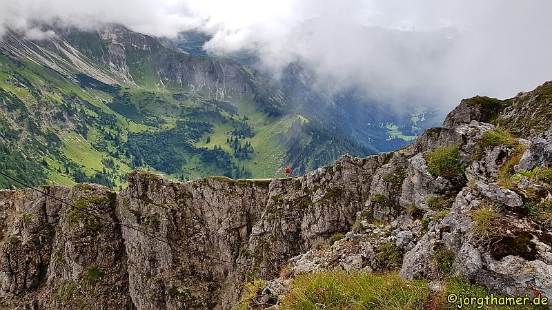 Grenzgänger Wandersteig - Auch da müssen wir gleich noch rüber!