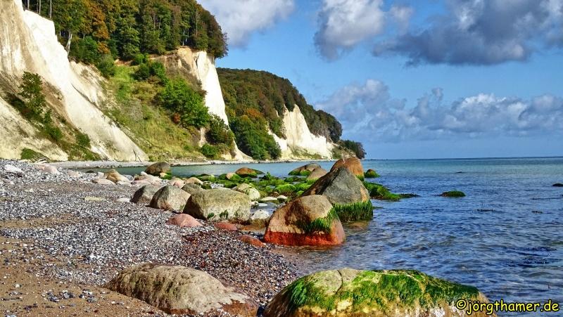 Wandern auf Rügen - Uferstreifen