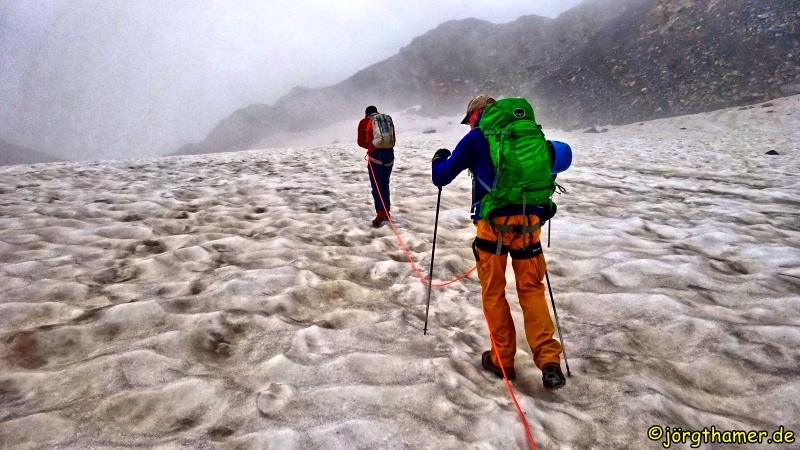Albula-Alpen - Angeseilt über den Grialetsch-Gletscher