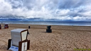 Wandern auf Usedom - Strandkörbe