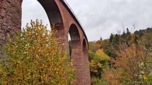 Saar-Hunsrück-Steig - das Hunsrückbahn-Viadukt Höxel