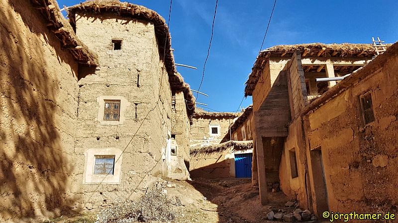Lehmbauten Ait Bouguemez Marokko