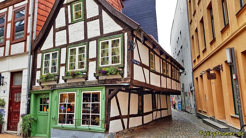 Ältestes Fachwerkhaus Schwerin