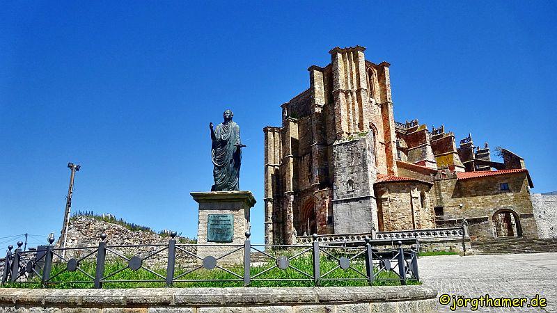 Camino del Norte - Castro Urdiales Festung Santa Ana