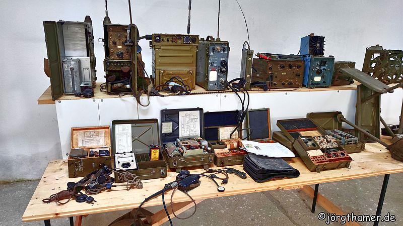 Private Sammlung militärischer Gegenstände auf dem Tillenberg