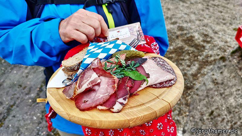 Herzhaftes Picknick