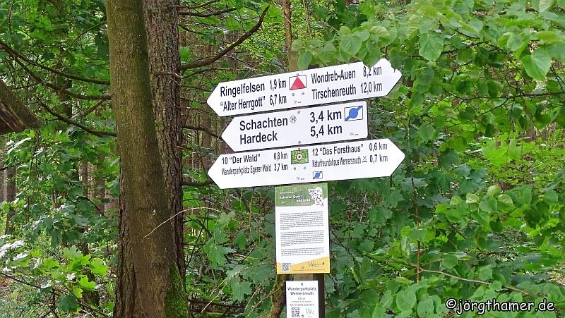 Wegweiser Rinnlstein-Rundweg