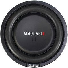 "8 inch sub MB Quart DS1-204 Discus Series 400-Watt Shallow Subwoofer (8"")"