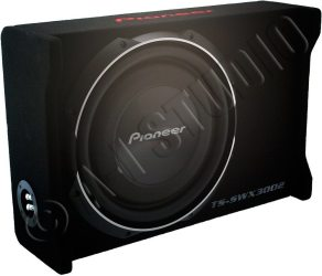 """Pioneer TS-SWX3002 12"""" Shallow-Mount Pre-Loaded Enclosure"""