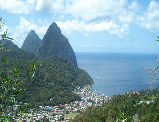The Pitons Saint Lucia