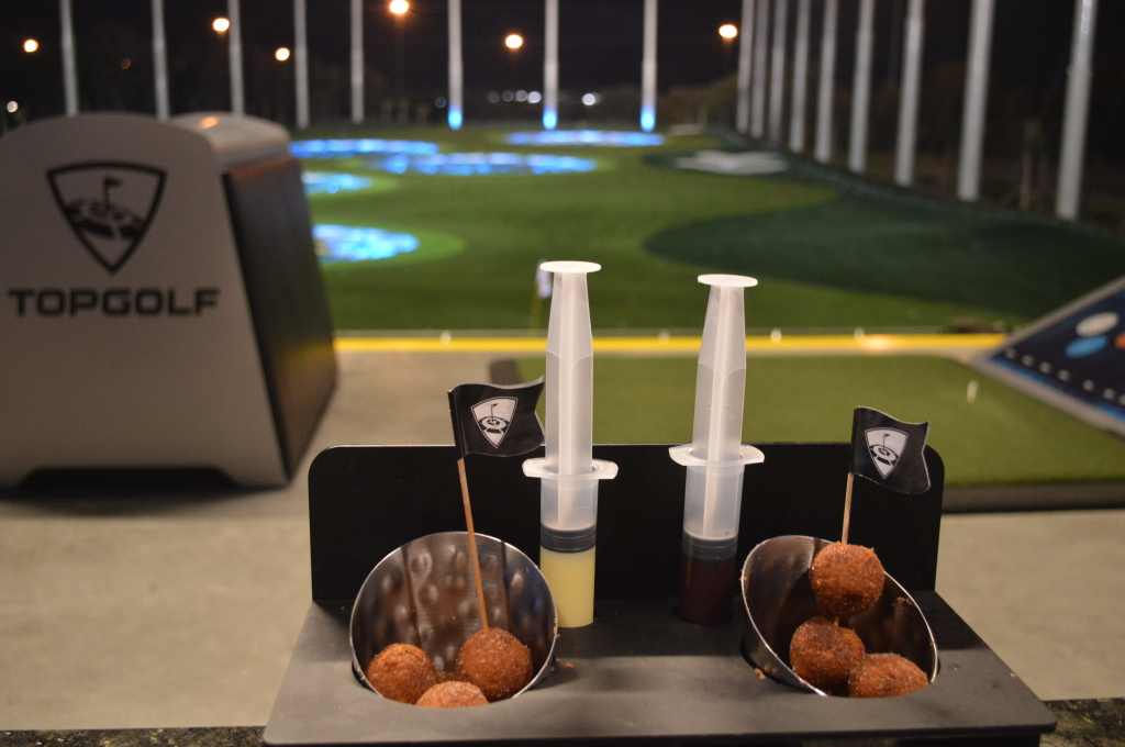 food to eat at Topgolf Tampa