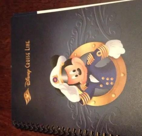 Disney Cruise Agenda
