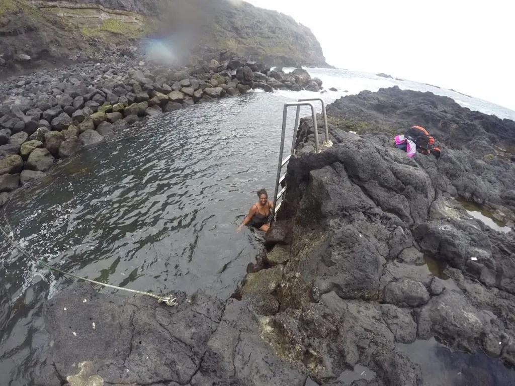 ponte da ferraria azores hot springs