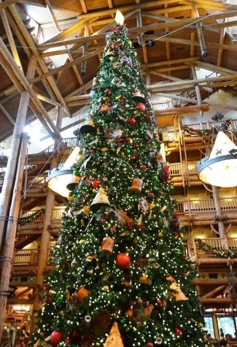 christmas bucketlist disney resort decorations