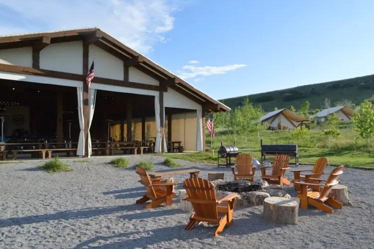 Luxury Glamping In Utah At Conestoga Ranch On Bear Lake