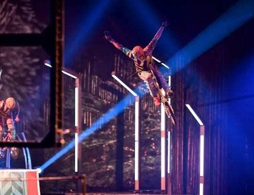 VOLTA Tampa Cirque du Soleil Costumes: Zaldy / ©2017 Cirque du Soleil Inc.