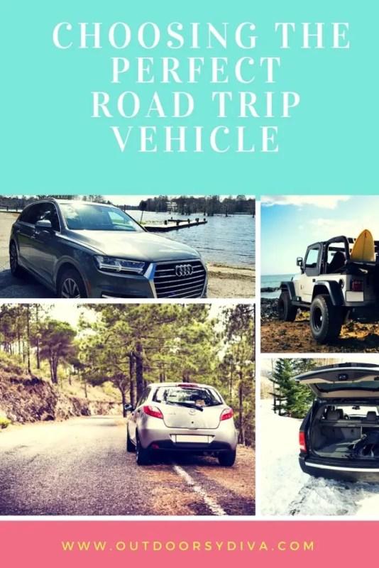 choosing perfect road trip vehicle