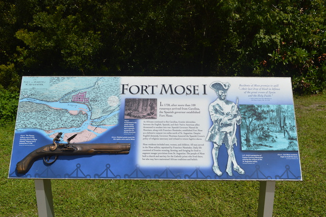things to do in saint augustine outdoor activities in saint augustine fort mose