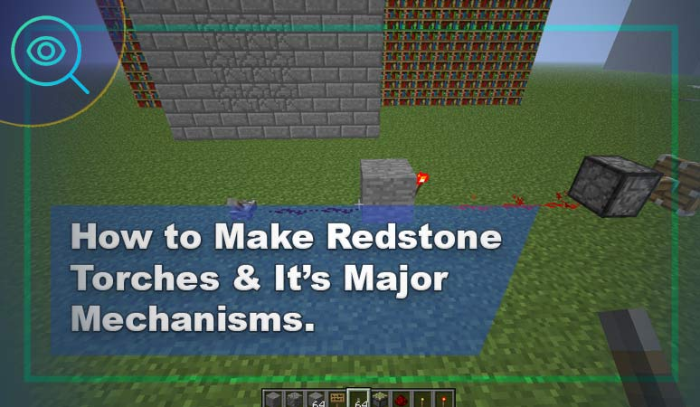 How to Make Redstone Torches