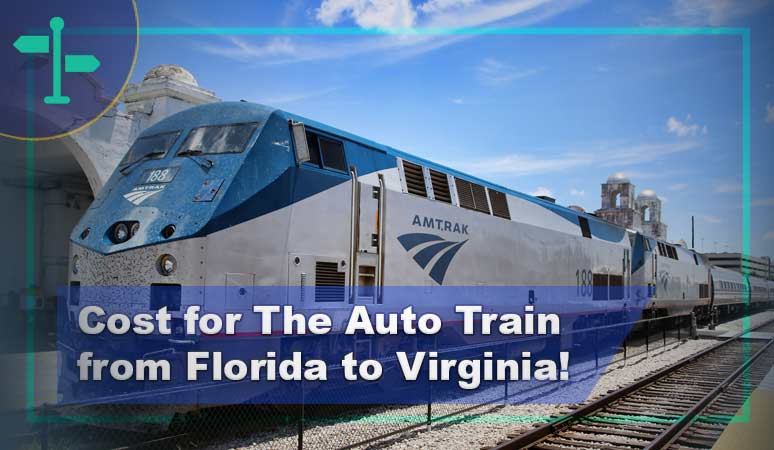 Cost for The Auto Train from Florida to Virginia?