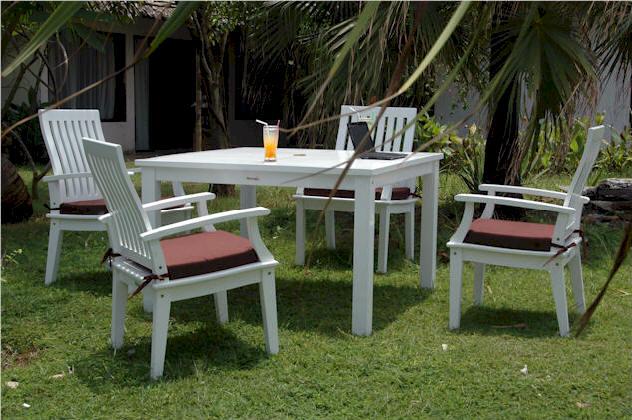 Magnolia Wood Dining Set Model: Set P17 0