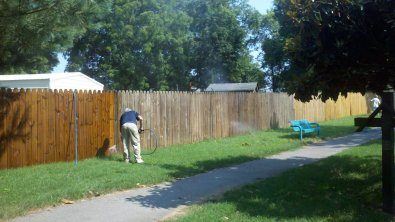 Community Fence Maintenance