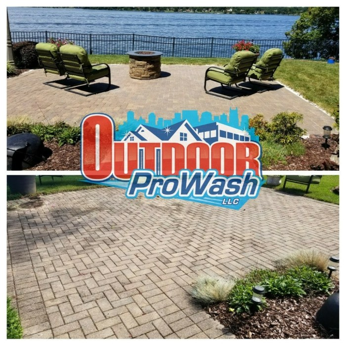 Paver Cleaning, Saninding and Sealing