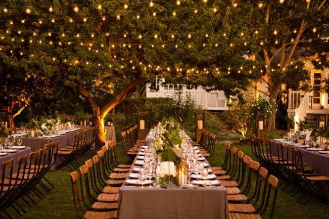 Night Outdoor Weddings Party Ideas Weddingsrusdeco