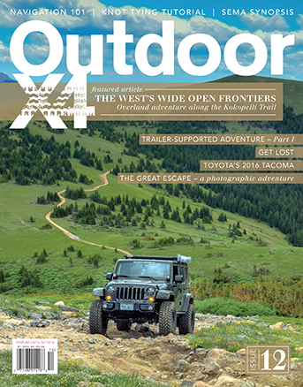 Issue 12 - Adventure Travel, Outdoorsman, 4x4 Magazine